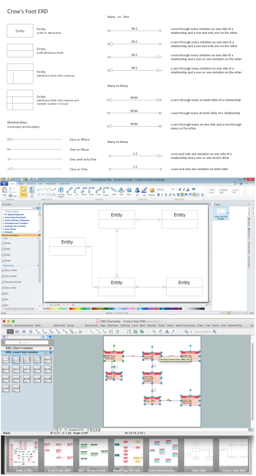 small resolution of entity relationship diagrams erd illustrates the logical structure of databases the vector graphic diagrams produced when using the conceptdraw erd