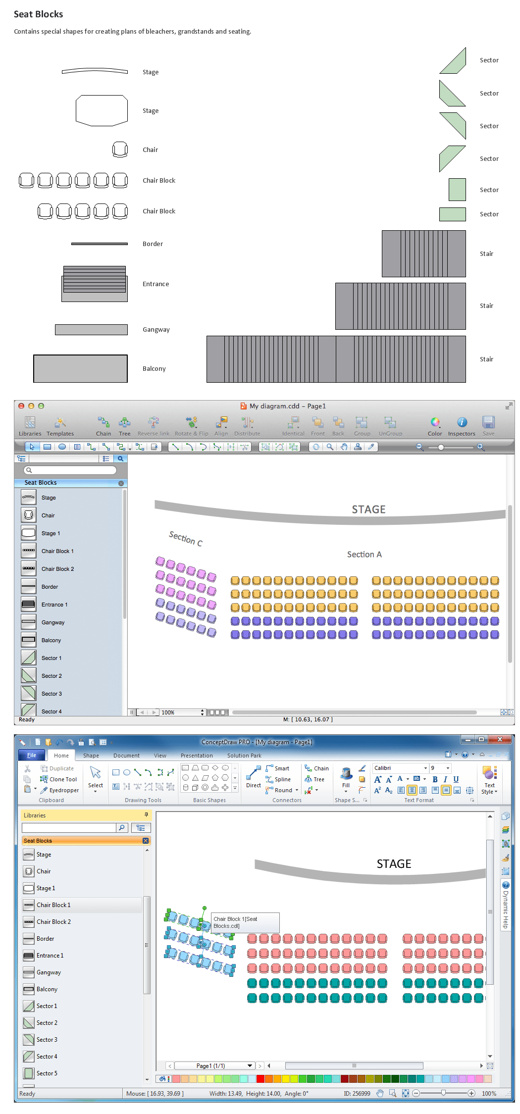 hight resolution of building drawing software for designseating plan