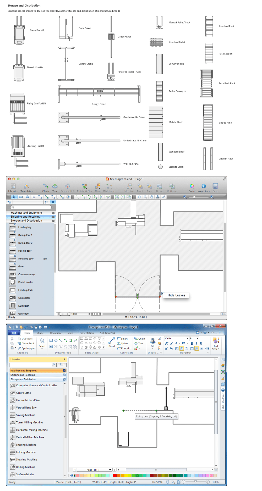 medium resolution of design elements of storage and distribution plant layout plans