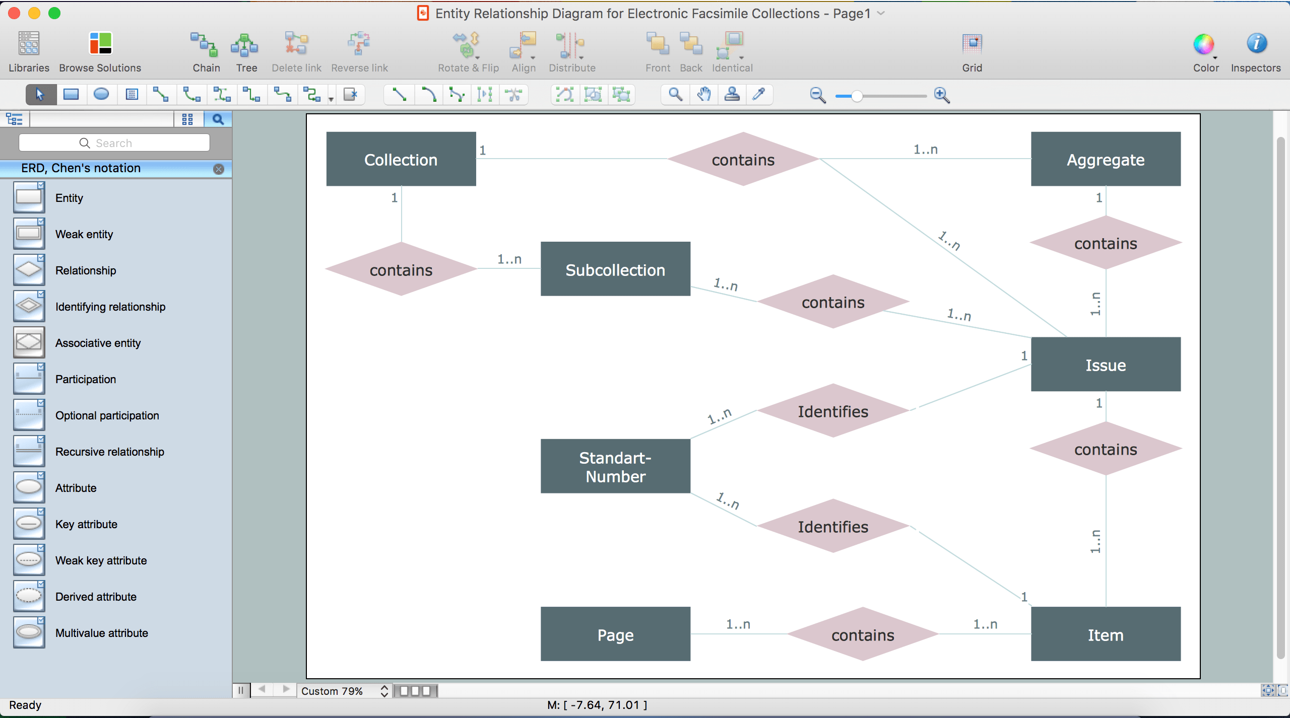 free entity relationship diagram tool furnace wiring diagrams drawing er on a mac professional erd