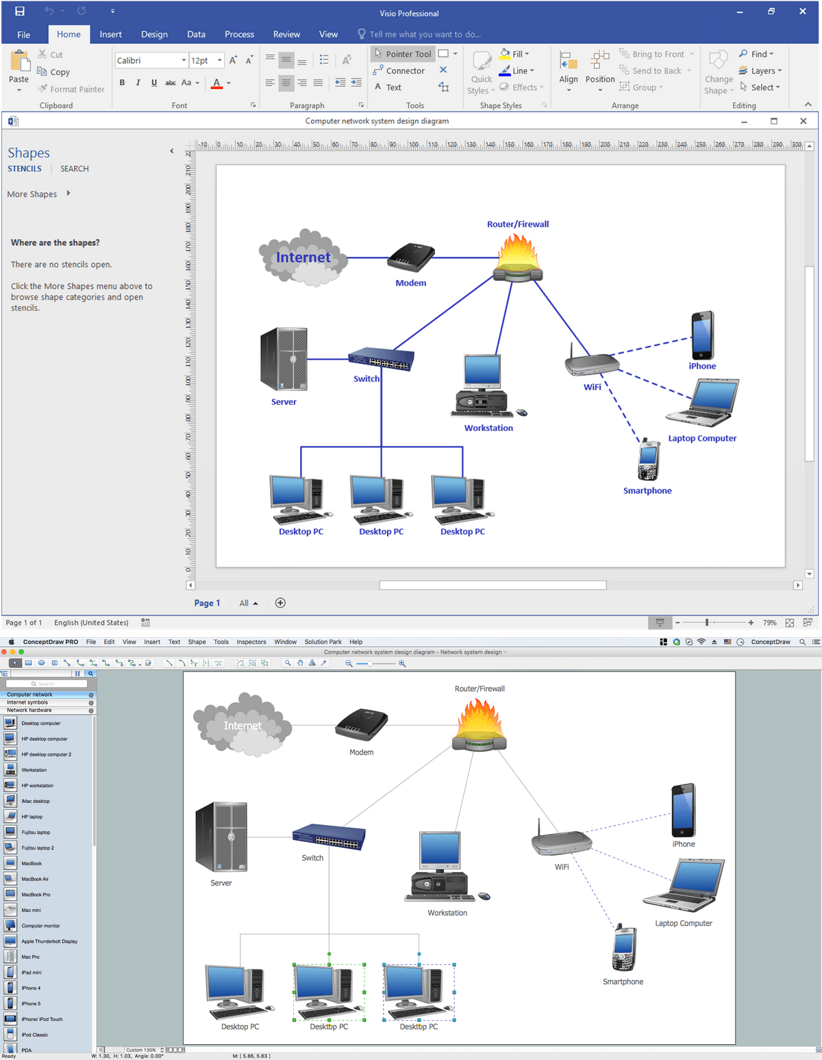 hight resolution of ms visio look a like diagrams on mac network topology diagram