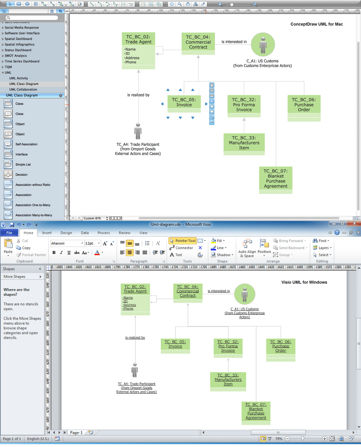 uml deployment diagram tutorial 1989 yamaha warrior 350 wiring visio great installation of diagramming software for rh conceptdraw com 2013