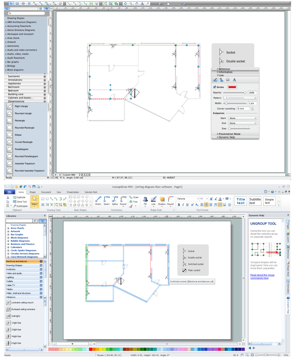 medium resolution of wiring diagram floor software circuit diagram software house wiring diagram program