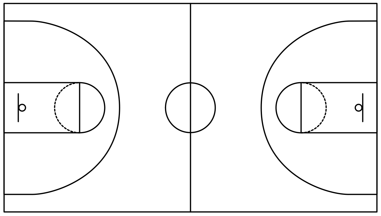 printable basketball court diagrams for plays switch wiring diagram outlet field in the vector