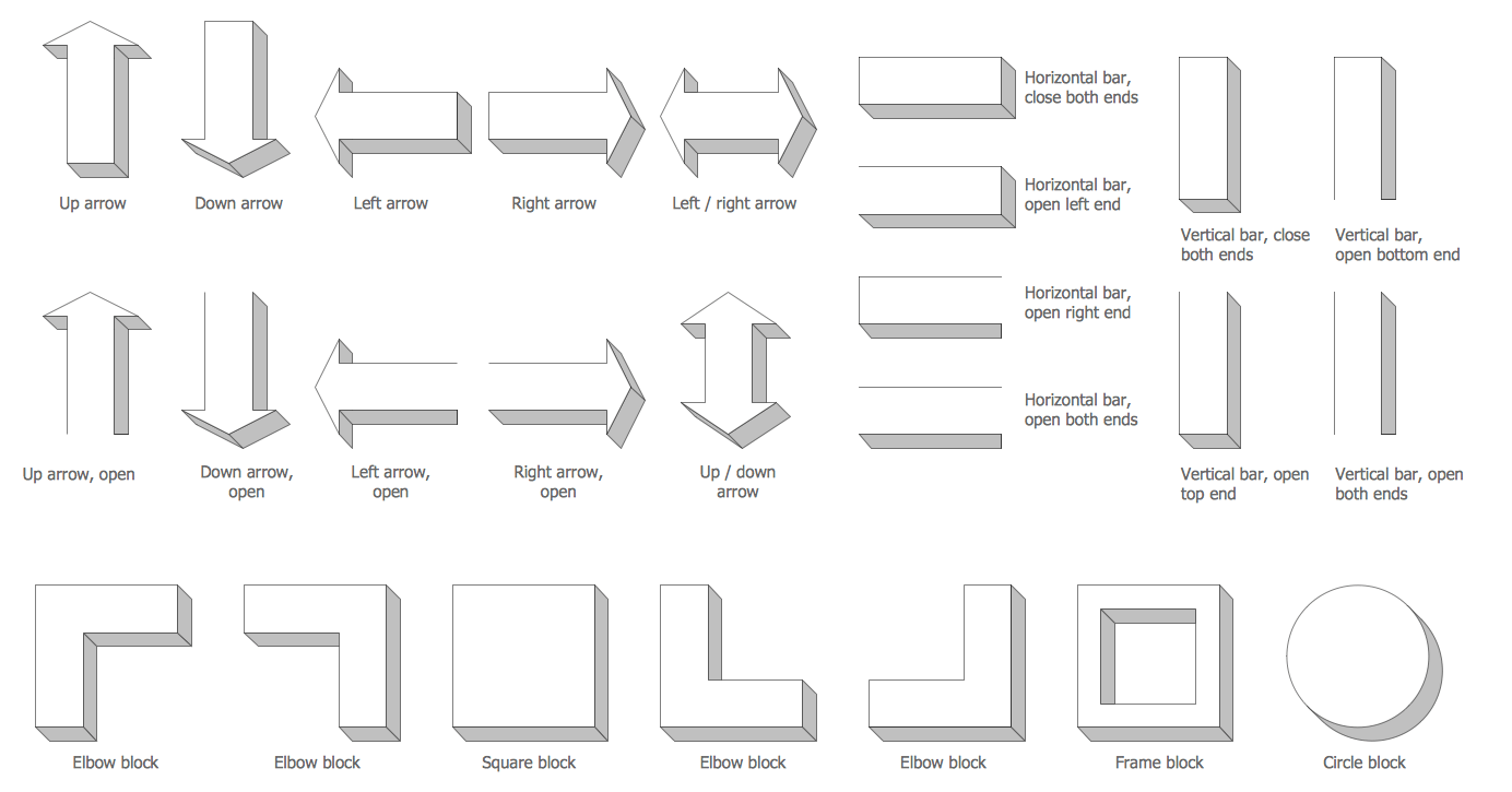 hight resolution of raised blocks library
