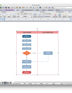 How to add  cross functional flowchart an ms word document using conceptdraw pro also rh
