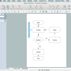 Software To Draw Flow Chart Diagram Square D Qo Load Center Wiring How Create A Flowchart Using Conceptdraw Free Trial