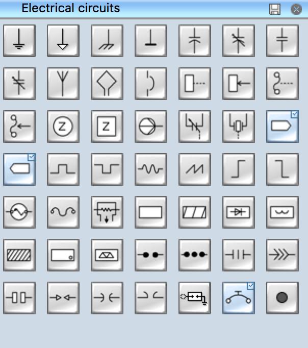 Standard Electrical Symbols
