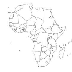 World Map For Visio Diagram Nissan Pulsar N15 Radio Wiring Geo - Africa Ethiopia