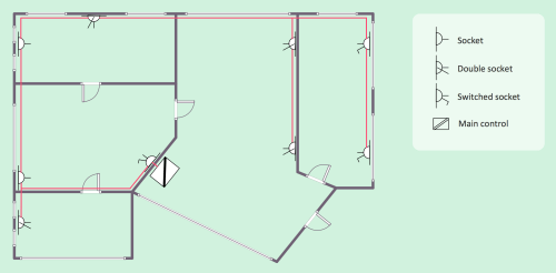 small resolution of electrical house plan
