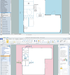 house electrical plan software electrical diagram software rh conceptdraw com [ 1436 x 1732 Pixel ]