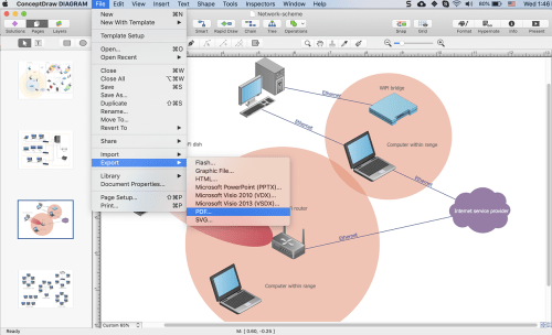 small resolution of how to convert a wireless network diagram to adobe pdf