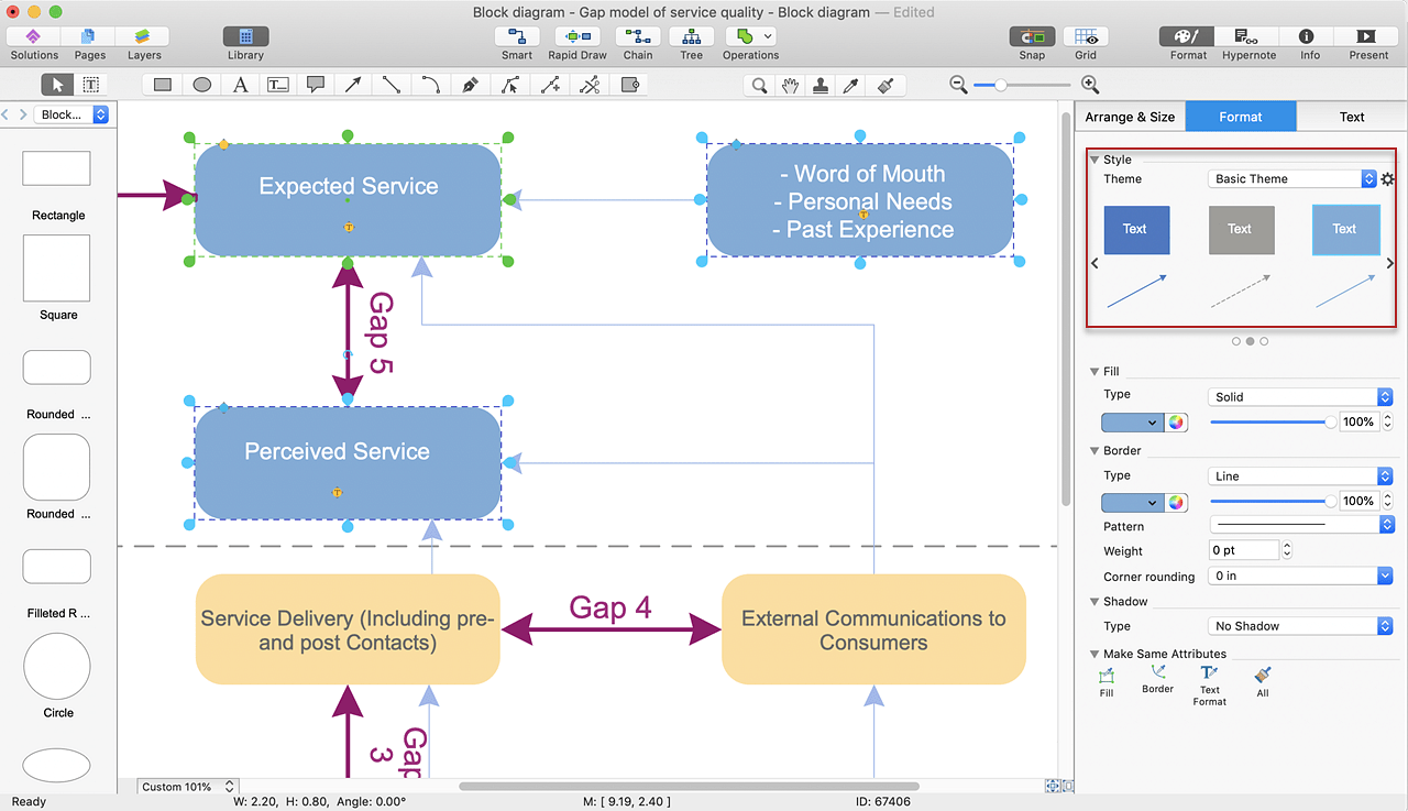 hight resolution of make a powerpoint presentation of a block diagram conceptdraw helpdesk create block diagram powerpoint