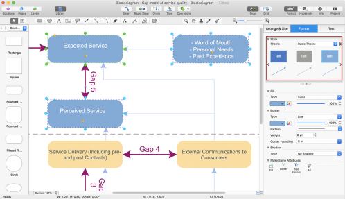 small resolution of make a powerpoint presentation of a block diagram conceptdraw helpdesk create block diagram powerpoint