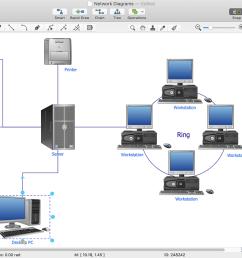 conceptdraw network diagram [ 1280 x 692 Pixel ]