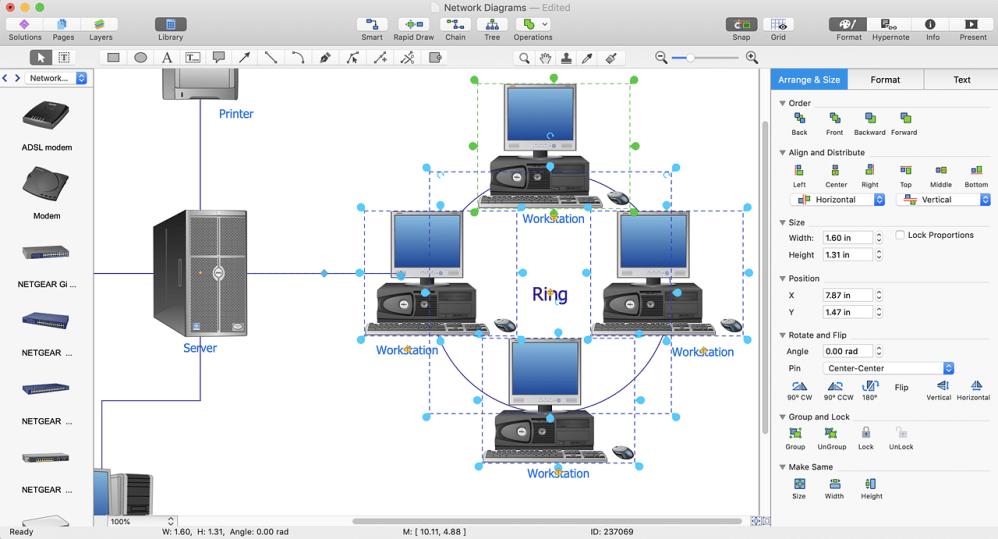 medium resolution of  conceptdraw network diagram