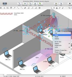 conceptdraw diagram wireless network documentation in ms word [ 1280 x 916 Pixel ]