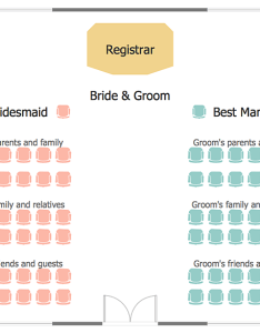 How to create  seating chart for wedding or event also interior design rh conceptdraw