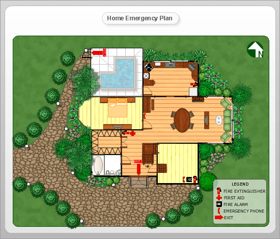 conceptdraw samples floor plan