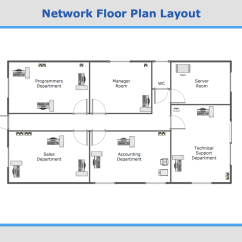 Telephone Network Diagram Layout Club Car Wiring Gas Engine Conceptdraw Samples Computer And Networks