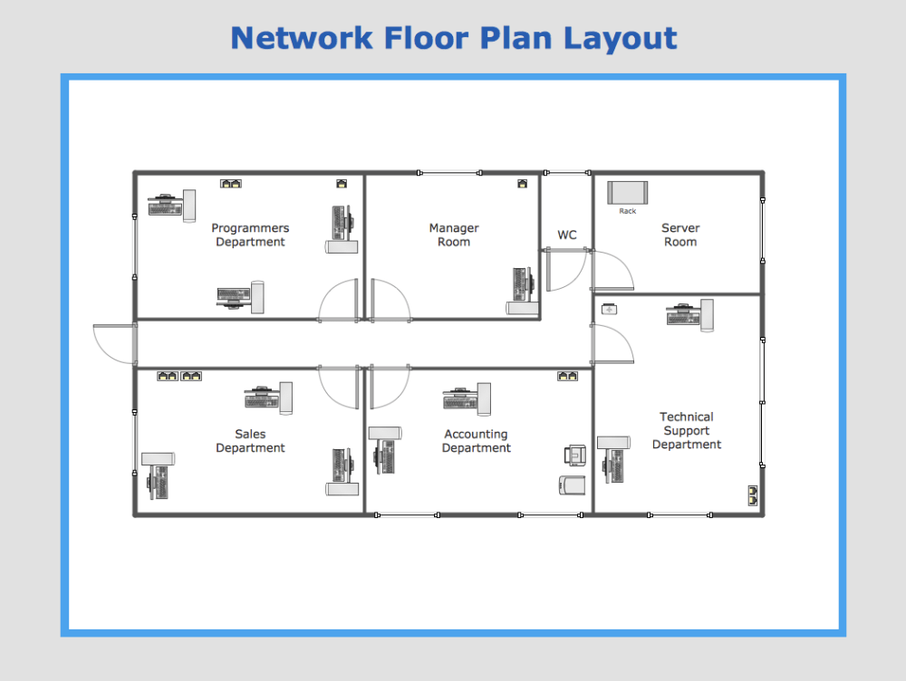 medium resolution of sample 13 network floor plan layout