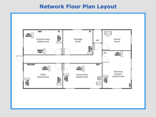 small resolution of sample 13 network floor plan layout