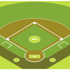 Softball Diamond Diagram Honeywell Rth221b Wiring Baseball Solution | Conceptdraw.com