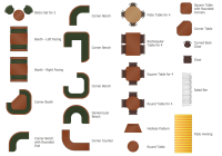 Cafe and Restaurant Floor Plan Solution | ConceptDraw.com ...