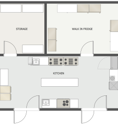 restaurant kitchen floor plan [ 1115 x 1100 Pixel ]