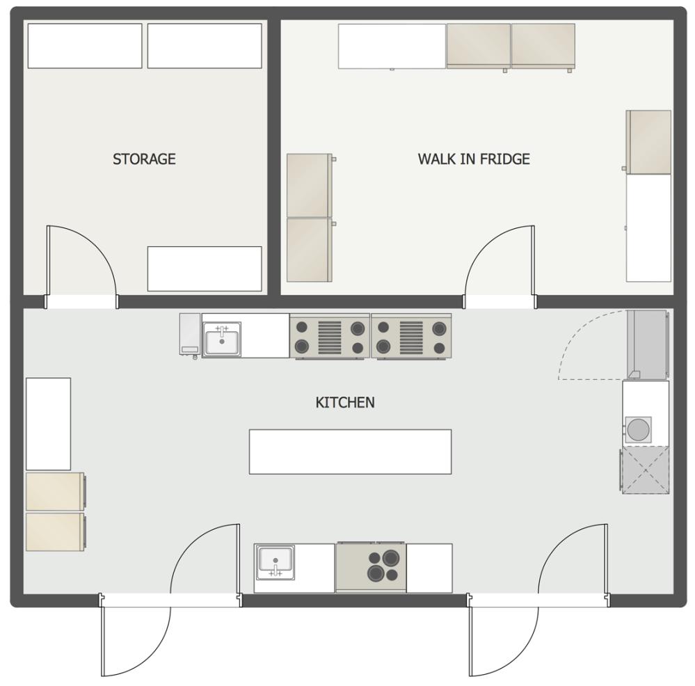 medium resolution of restaurant kitchen floor plan