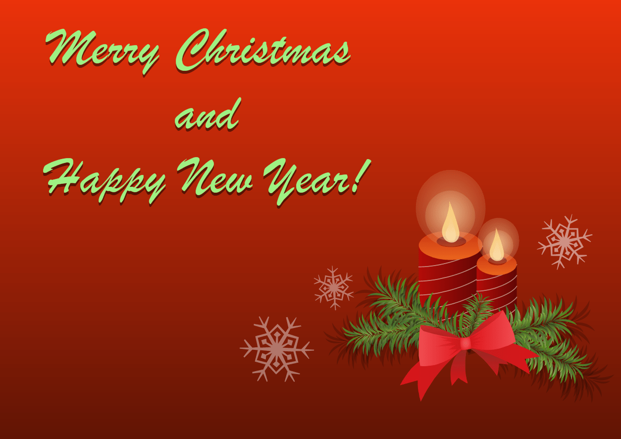 merry christmas cards template