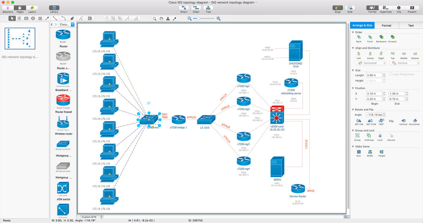 hight resolution of cisco network diagrams solution for mac os x