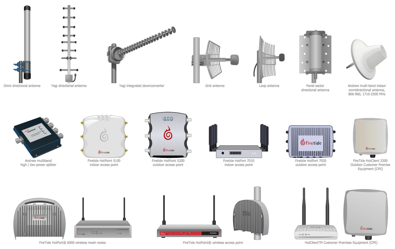hight resolution of design elements telecom equipment