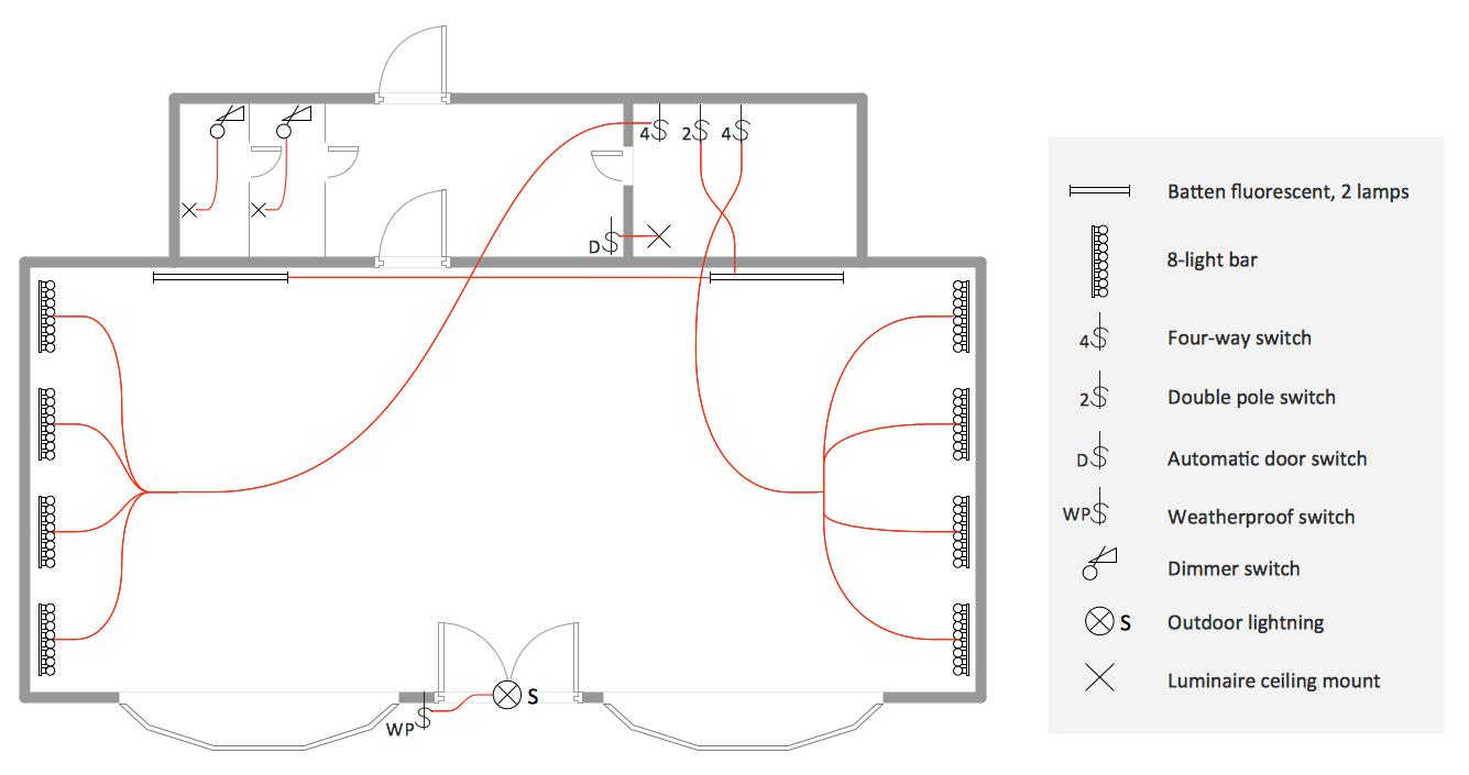 complex wiring diagram