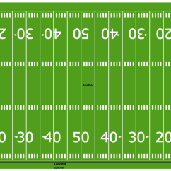 Football Pitch Diagram To Print Volkswagen 2 0 Engine Solution Conceptdraw Com Horizontal Colored Field Sample