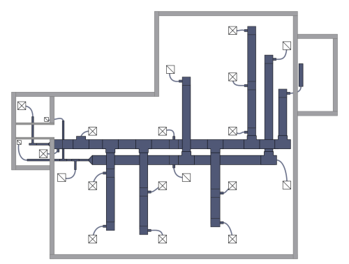 small resolution of hvac duct drawings