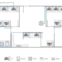 House Electrical Wiring Diagram Symbols Three Phase Plug Network Layout Floor Plans Solution | Conceptdraw.com