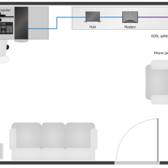 Sample Network Diagram Floor Plan Mgf Horn Wiring Layout Plans Solution Conceptdraw