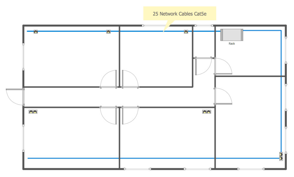 hight resolution of network communication plan common network diagram