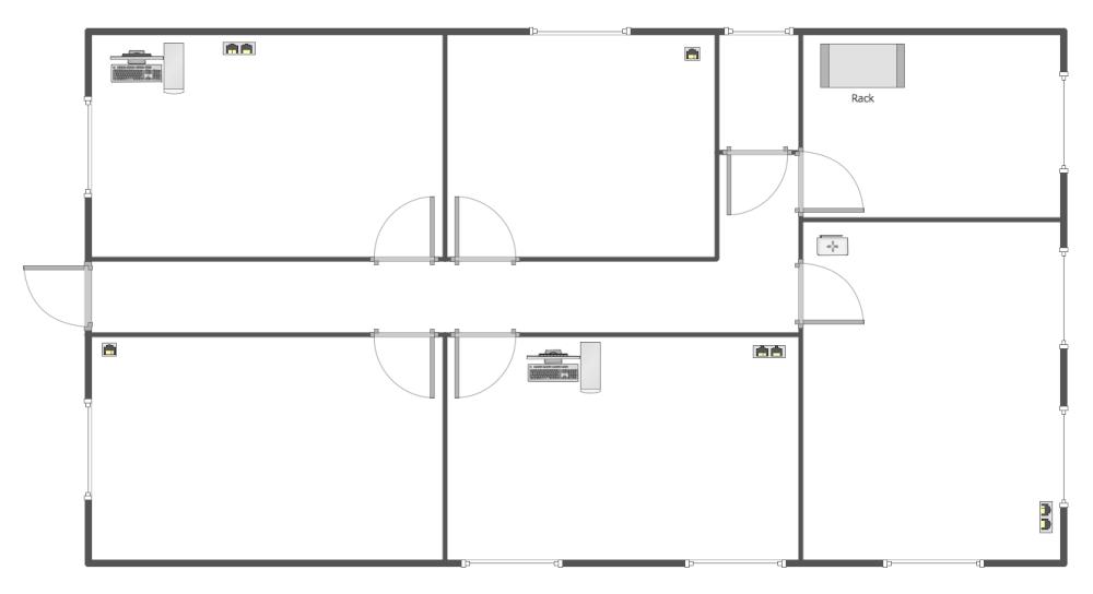 floor plan templates network layout floor plans solution