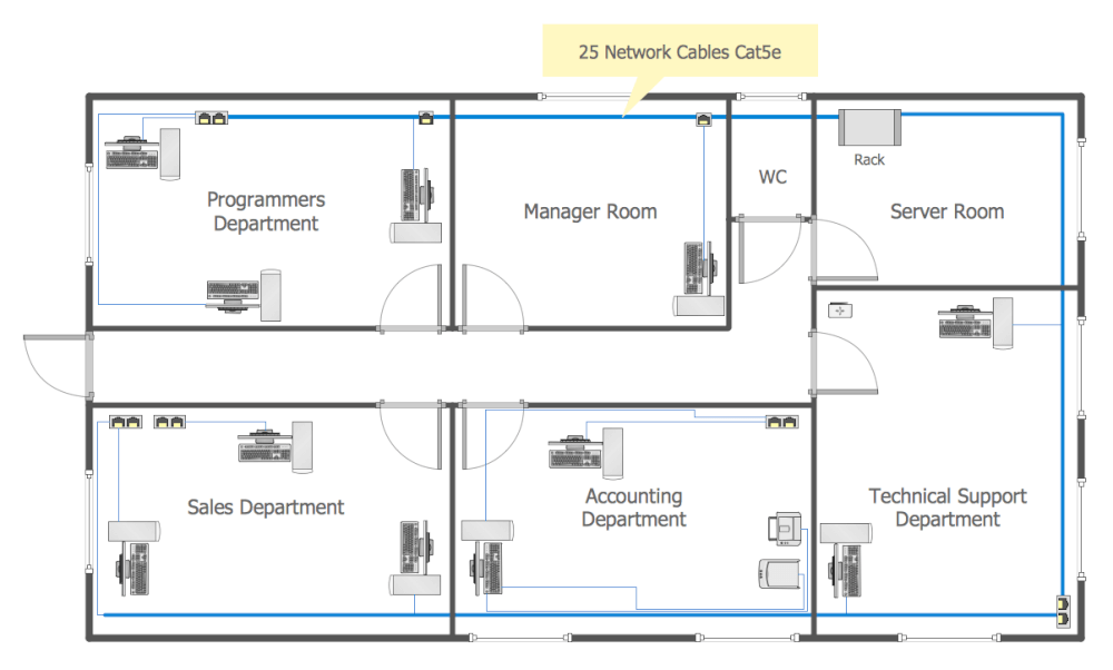 elevator electrical wiring diagram 4l60e network layout floor plans solution | conceptdraw.com