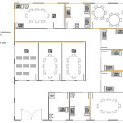 Sample Network Diagram Floor Plan Stem And Leaf Questions Layout Plans Solution Conceptdraw