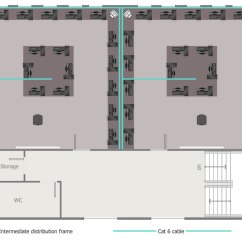 Sample Network Diagram Floor Plan Ford Falcon Ba Stereo Wiring Layout Plans Solution Conceptdraw