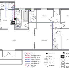 House Plumbing Diagram Battery Selector Switch Wiring And Piping Plans Solution Conceptdraw