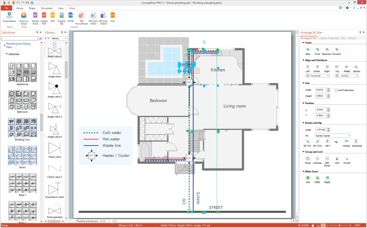 hight resolution of plumbing and piping plans solution for microsoft windows