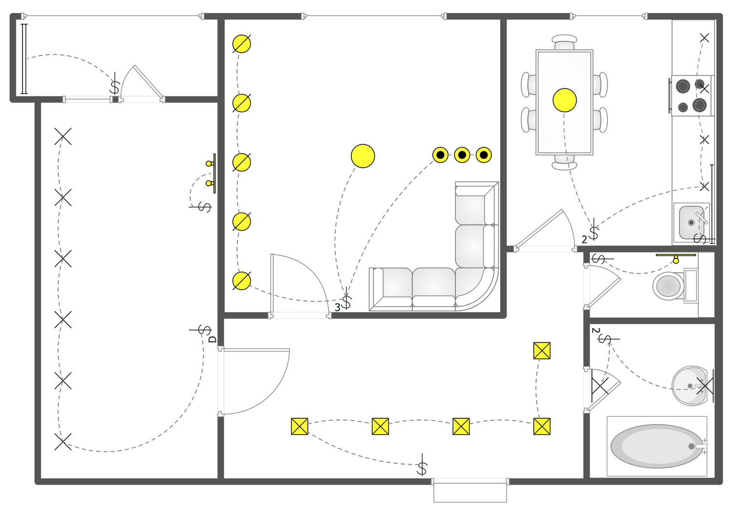 House Wiring For Ceiling
