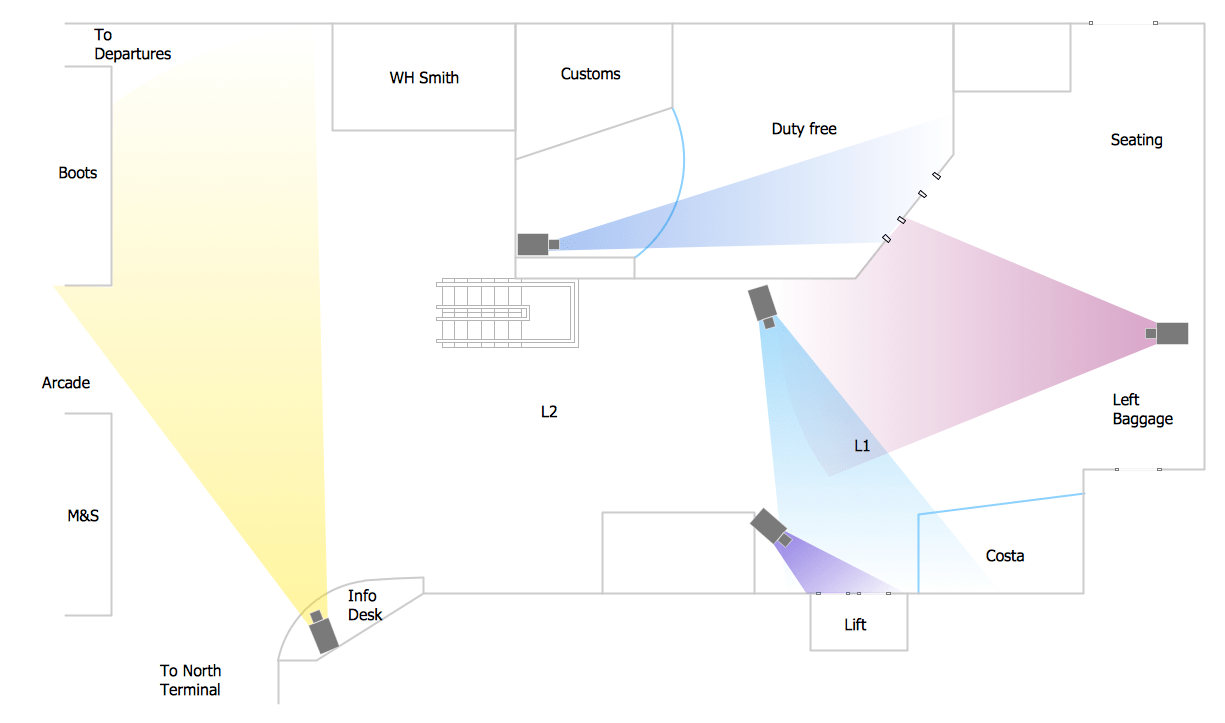 hight resolution of access plan camera layout schematic