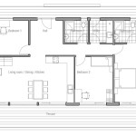 Small House Plan Ch64 Small Home Floor Plans Images House Plan