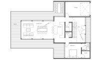 Contemporary Home Plan CH165 floor plans and 3D images ...