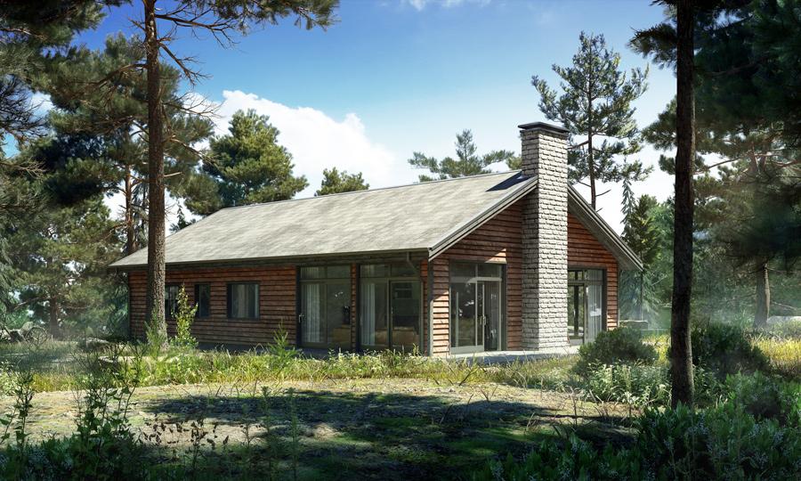 Small Modern Farmhouse House Plan 232 House Plan